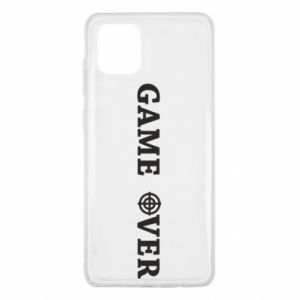 Samsung Note 10 Lite Case Game over