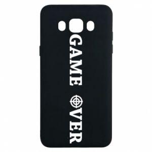 Samsung J7 2016 Case Game over