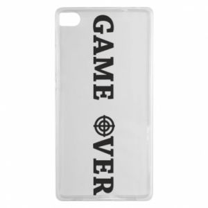 Huawei P8 Case Game over
