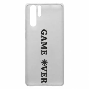 Huawei P30 Pro Case Game over