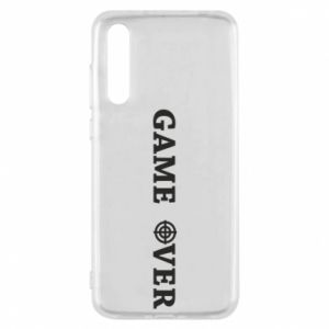 Huawei P20 Pro Case Game over
