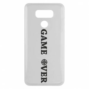 LG G6 Case Game over