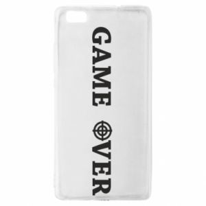Huawei P8 Lite Case Game over