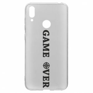 Huawei Y7 2019 Case Game over