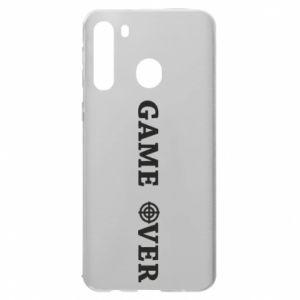 Samsung A21 Case Game over