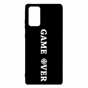 Samsung Note 20 Case Game over