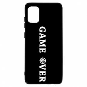 Samsung A31 Case Game over