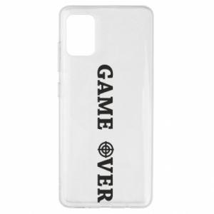 Samsung A51 Case Game over