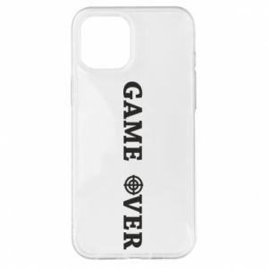 iPhone 12 Pro Max Case Game over