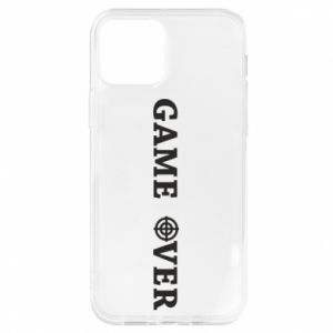 iPhone 12/12 Pro Case Game over