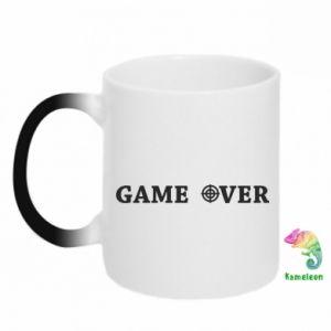 Kubek-kameleon Game over