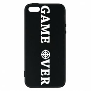 Etui na iPhone 5/5S/SE Game over