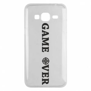 Etui na Samsung J3 2016 Game over
