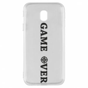 Etui na Samsung J3 2017 Game over