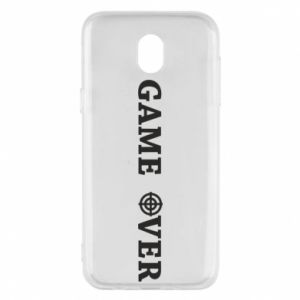 Etui na Samsung J5 2017 Game over