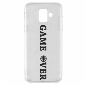 Etui na Samsung A6 2018 Game over