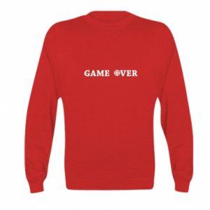 Kid's sweatshirt Game over