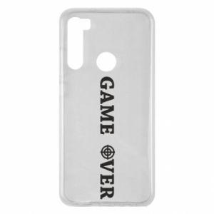 Xiaomi Redmi Note 8 Case Game over