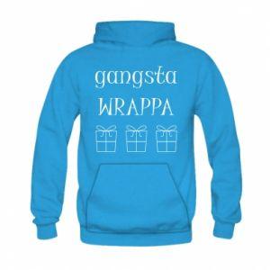 Kid's hoodie Gangsta Wrappa