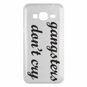 Etui na Samsung J3 2016 Gangsters don't cry