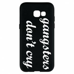 Etui na Samsung A5 2017 Gangsters don't cry
