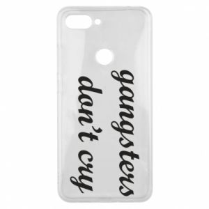 Phone case for Xiaomi Mi8 Lite Gangsters don't cry