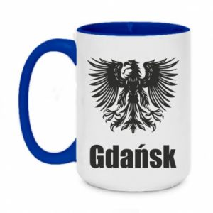 Two-toned mug 450ml Gdansk
