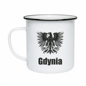 Kubek emaliowane Gdynia