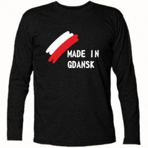Koszulka z długim rękawem Made in Gdansk - PrintSalon