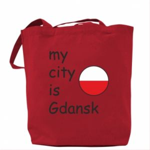 Bag My city is Gdansk
