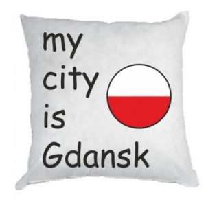 Pillow My city is Gdansk