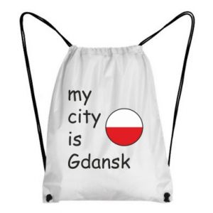 Backpack-bag My city is Gdansk