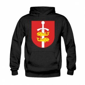 Kid's hoodie Gdynia coat of arms