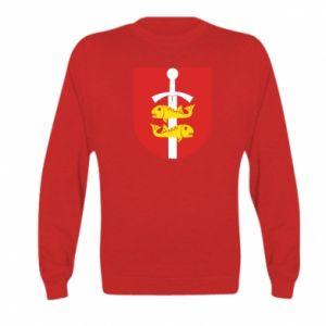 Kid's sweatshirt Gdynia coat of arms