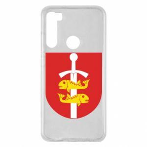 Xiaomi Redmi Note 8 Case Gdynia coat of arms