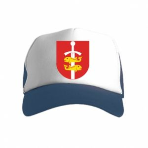 Kid's Trucker Hat Gdynia coat of arms
