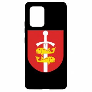 Samsung S10 Lite Case Gdynia coat of arms