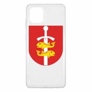 Samsung Note 10 Lite Case Gdynia coat of arms