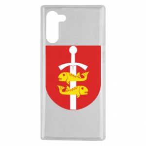 Samsung Note 10 Case Gdynia coat of arms