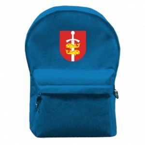 Backpack with front pocket Gdynia coat of arms