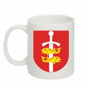 Mug 330ml Gdynia coat of arms