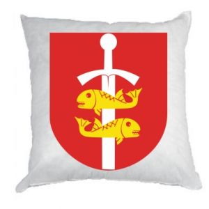 Pillow Gdynia coat of arms