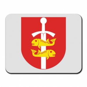 Mouse pad Gdynia coat of arms