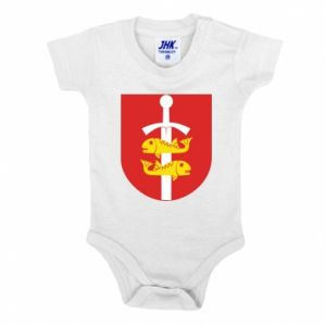 Baby bodysuit Gdynia coat of arms