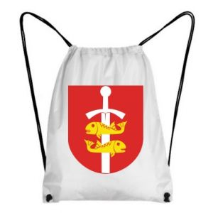 Backpack-bag Gdynia coat of arms