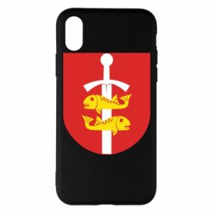iPhone X/Xs Case Gdynia coat of arms