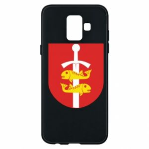 Samsung A6 2018 Case Gdynia coat of arms