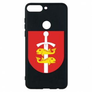 Huawei Y7 Prime 2018 Case Gdynia coat of arms