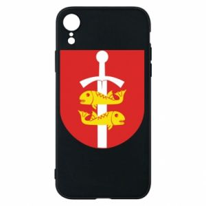 iPhone XR Case Gdynia coat of arms