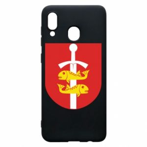 Samsung A30 Case Gdynia coat of arms